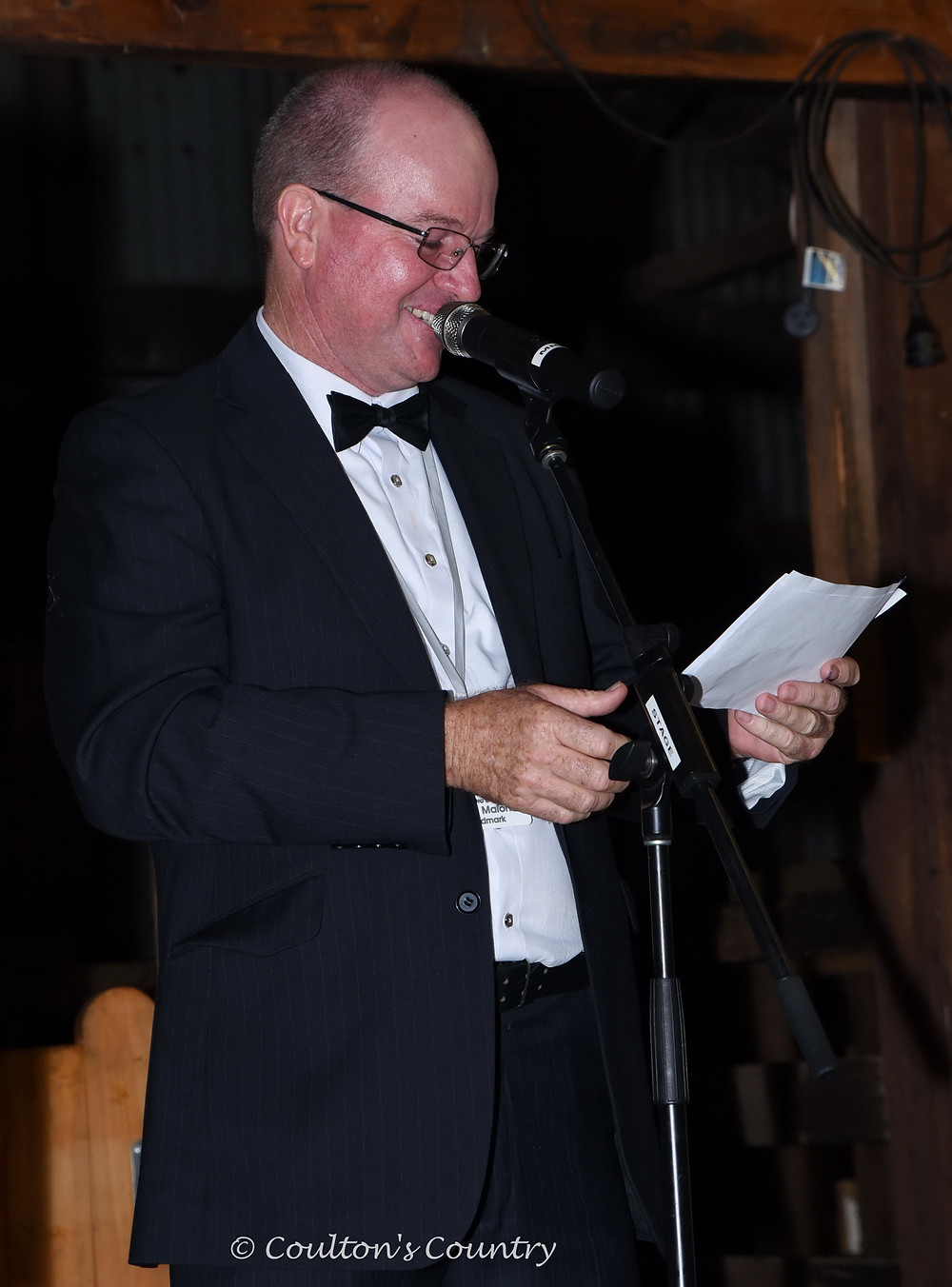 The MC for the evening was John Malone from Landmark Dalby.
