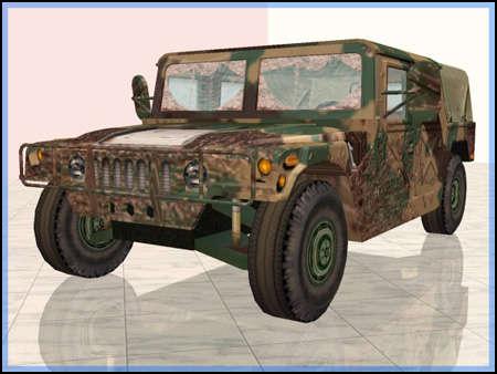 EA Military Humvee