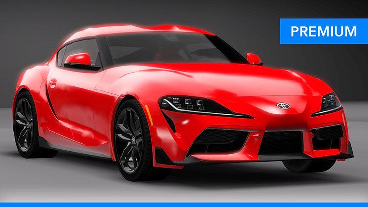 2020 Toyota GR Supra (VIP) (Sims 3)
