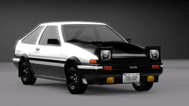 1985 Toyota Sprinter Trueno (AE86)