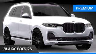 2021 BMW X7 Black Edition