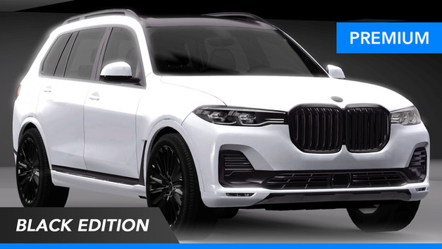 2021 BMW X7 Black Edition