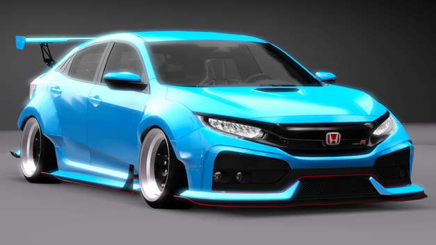 2018 Honda Civic Type R Widebody
