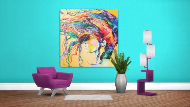 Windswept Art Print Canvas
