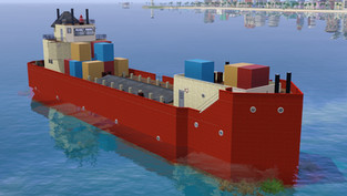 Vice City Series: Cargo Ship