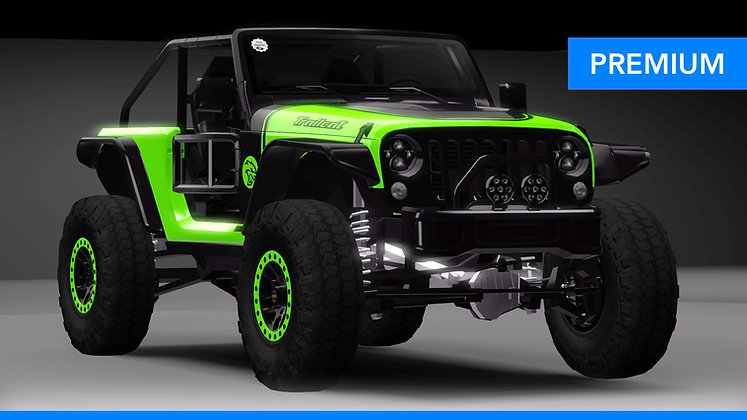 2016 Jeep Trailcat (VIP Edition) (Sims 3)