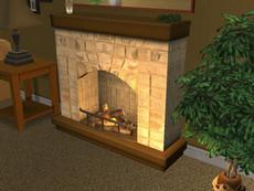Lisa Fireplace