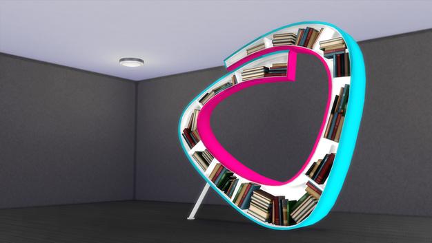 Atelier Bookworm Bookshelf