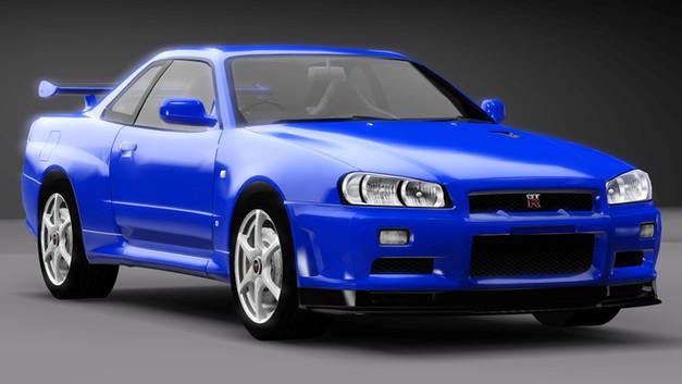 2002 Nissan Skyline GT-R V-Spec II