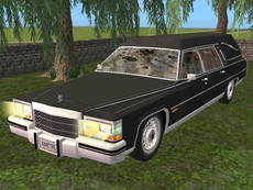 Haunted Cadillac Hearse