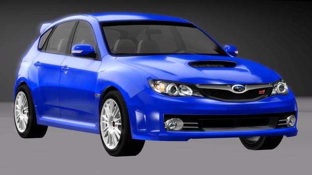 2008 Subaru Impreza STi