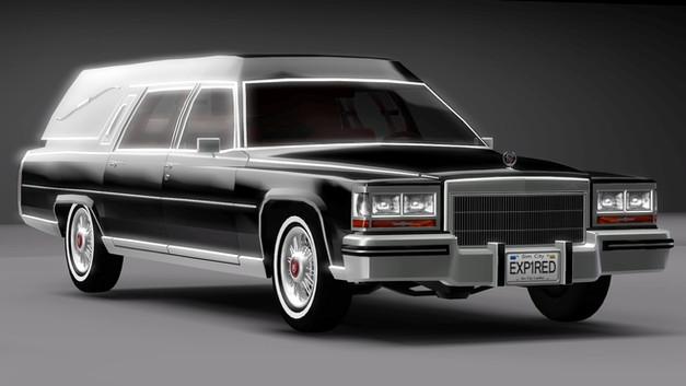 1985 Cadillac Fleetwood Hearse
