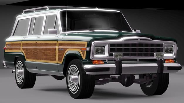 1991 Jeep Wagoneer