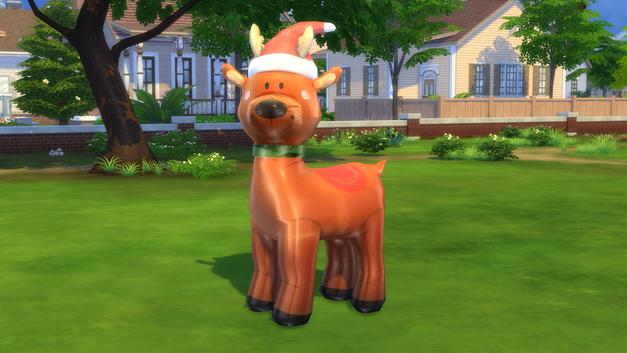 Inflatable Reindeer