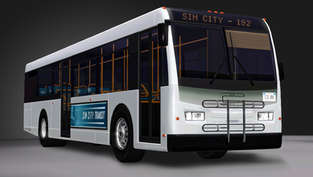 Sim City Transit Bus