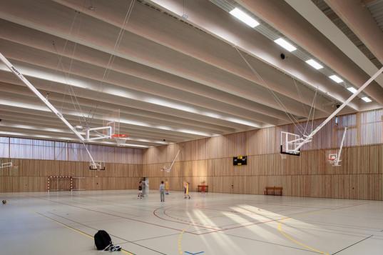 Equipement sportif scolaire - Crevin