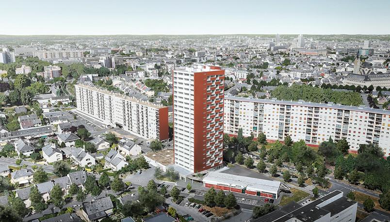 Réhabilition de la Tour Binquenais - Rennes