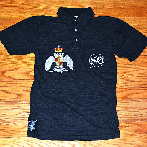 SO Royal Crest Short Sleeve Leisure Shirt