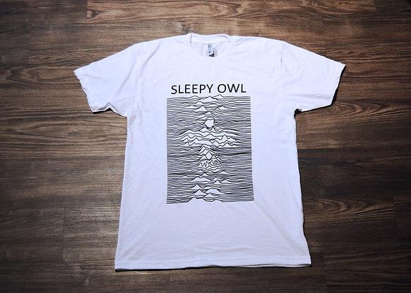 Sleepy Owl Joy Division T