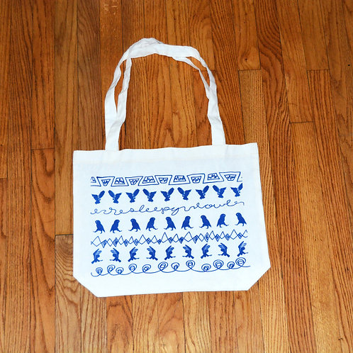Sleepy Owl's (Owl Prowl) Tote Bag