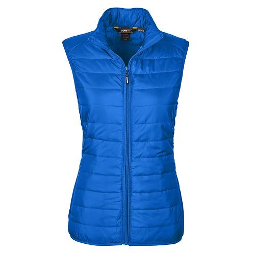 CORE 365 Ladies' Prevail Packable Puffer Vest