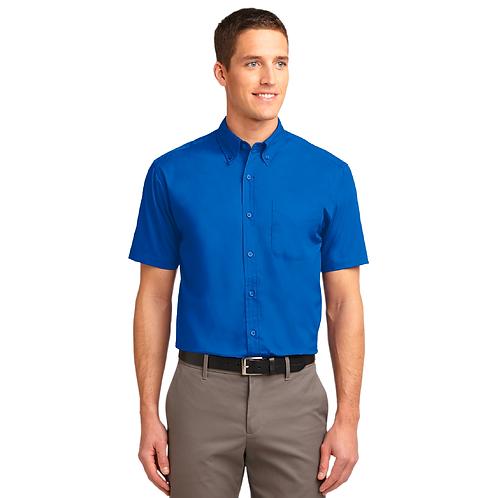 Port Authority® Tall Easy Care Short Sleeve Shirt