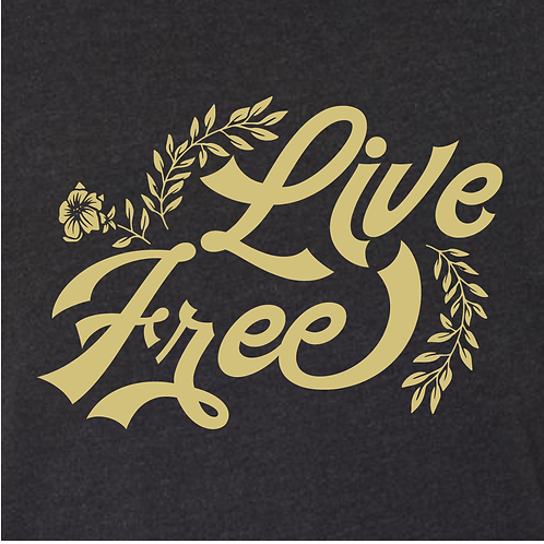 Live Free Floral