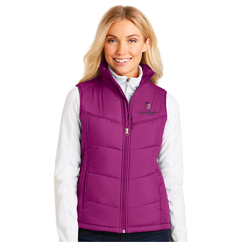 Port Authority® Ladies Puffy Vest
