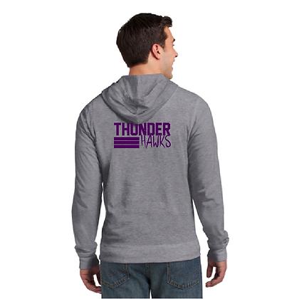 District ® Jersey Full-Zip Hoodie