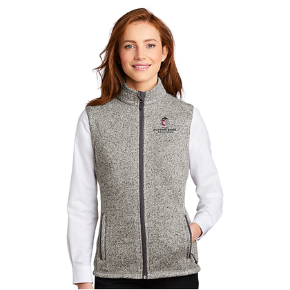 Port Authority ® Ladies Sweater Fleece Vest