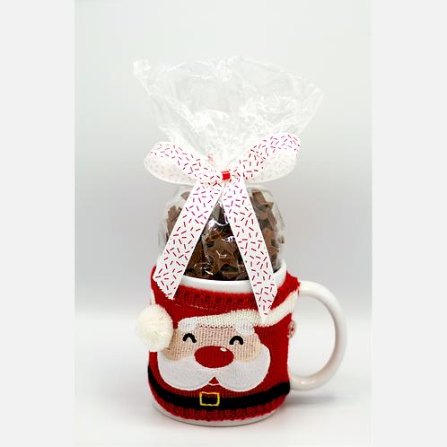 Santa Mug w/ Choc Stars #749848