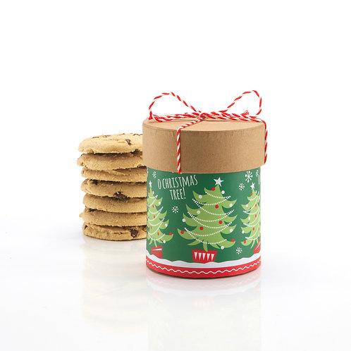 Christmas Tree Round w/ string #694