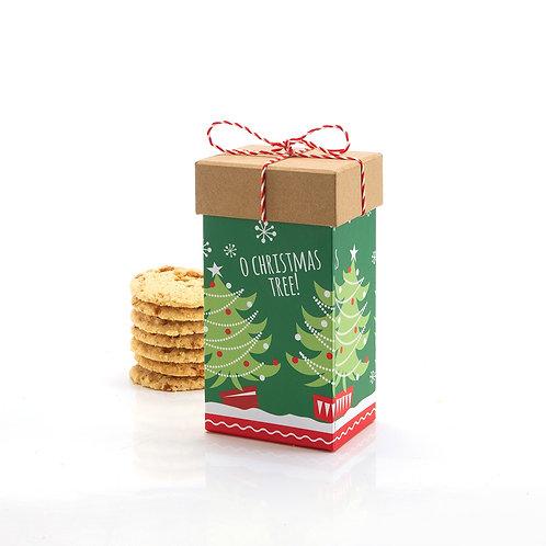 Christmas Tree Square w string #695