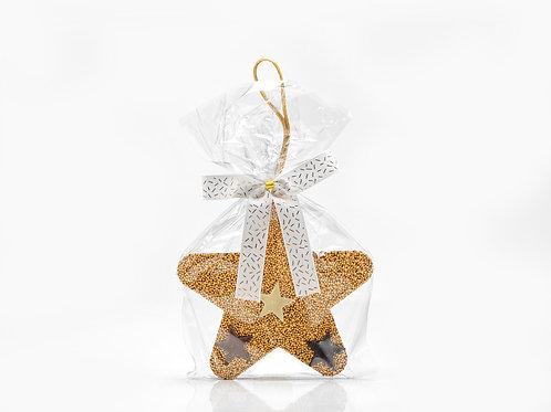 Star Choc Ornament – Gold #752061