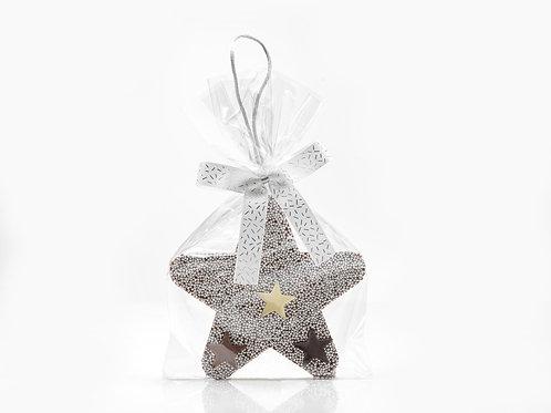 Star Choc Ornament – Silver #751521