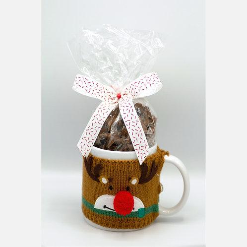 Reindeer Mug w/ Choc Stars  #749858