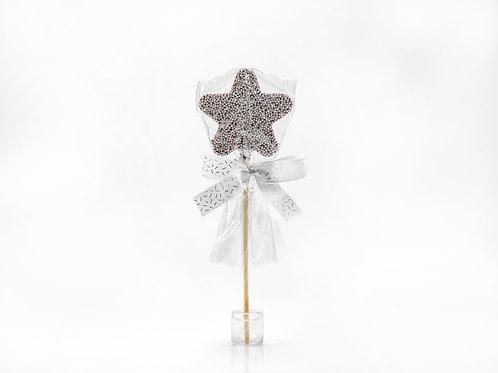 Star Choc LolliPop – Silver #751571