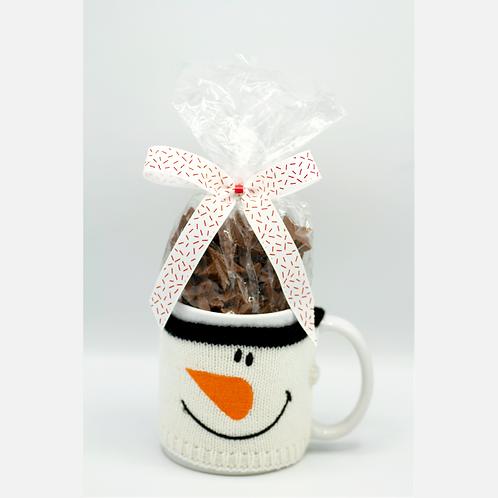 Snowman Mug w/ Choc Stars #749868