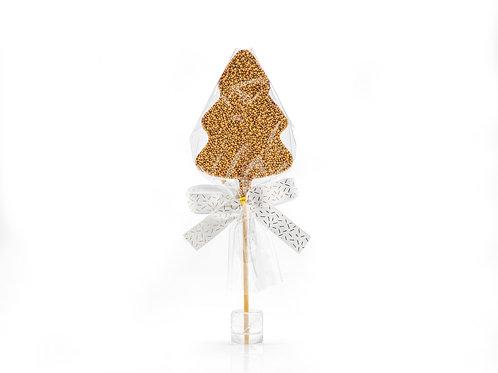 Tree Choc LolliPop – Gold  #752091