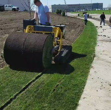 Sod Laying Demonstration