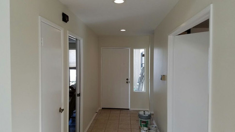 Electrical and Installing recessed lights