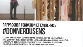 Rapprocher fondation et entreprise