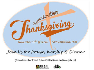 Give Thanks With Us!!