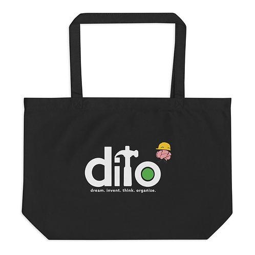 DITO Large organic tote bag