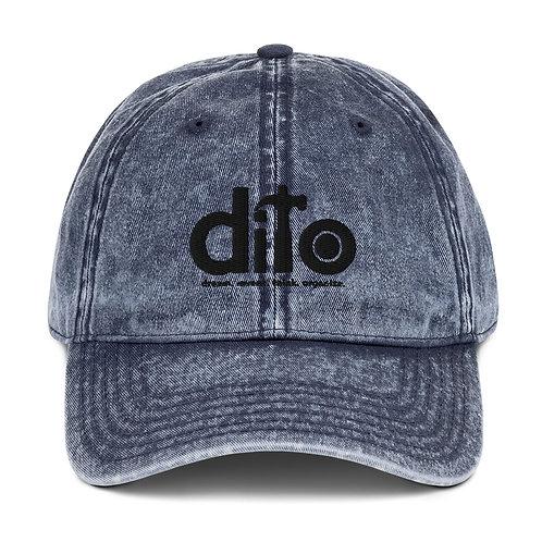 DITO Vintage Cotton Twill Cap