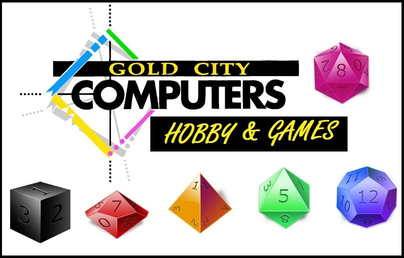Gold City Computers Hobby & Games LOGO
