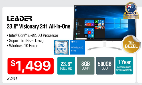 Leader Visionary 241 All-in-One PC