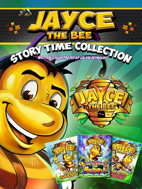 Jayce The Bee Story book collection_Hardcover