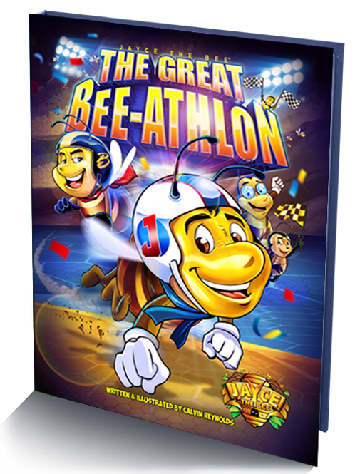 Jayce The Bee: The Great Bee-Athlon_Hardcover