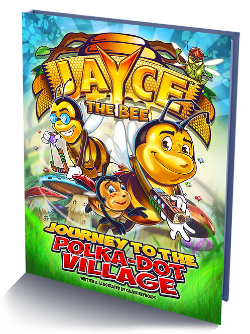 Jayce: Journey to the Polka-Dot Village Hardcover